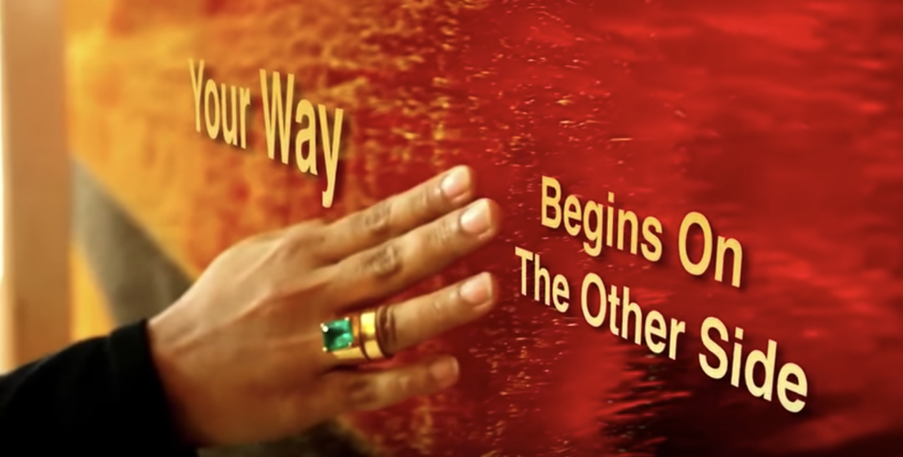 "The making of Aisha Khalid's ""Your Way Begins on the Other Side"""