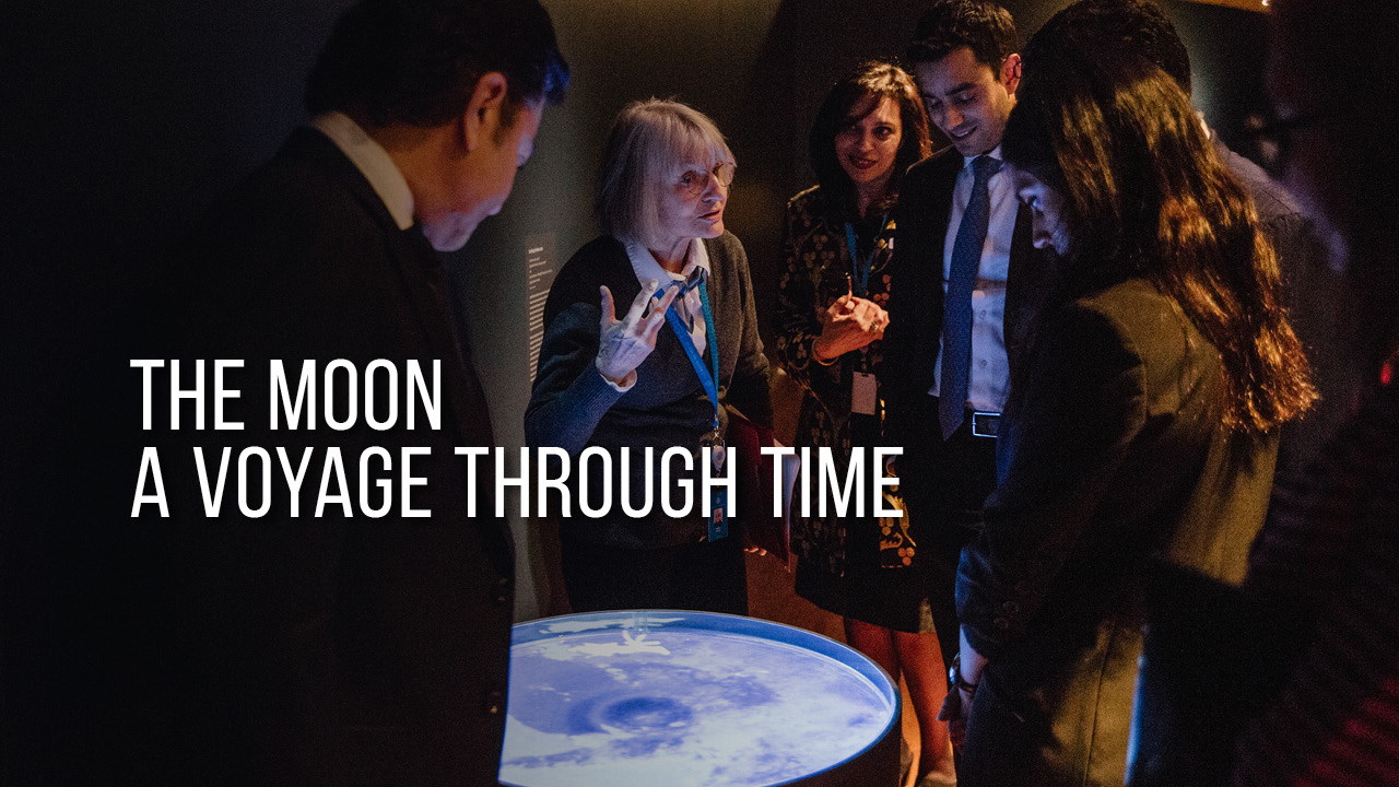 THE MOON: A Voyage Through Time