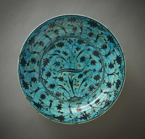 AKM849, Dish with floral design