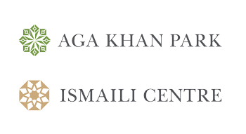 Aga Khan Park logo and Ismaili Centre logo